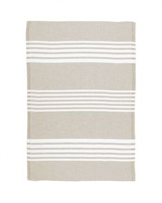 Gourmet Stripe Kitchen Hand Towel Set Of 2