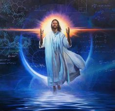 And all our questions will be answered. Once Jesus comes back. As a gentile? Pictures Of Jesus Christ, Religious Pictures, Christian Images, Christian Art, Mary Magdalene And Jesus, Jesus E Maria, Jesus Painting, Prophetic Art, Jesus Resurrection