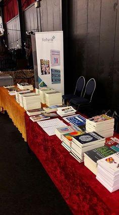 De mooie stand van Futuro Uitgevers tijdens de Gothic & Fantasy beurs in Rijswijk. #futurouitgevers #gothicbeurs