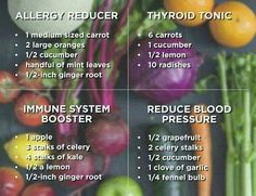 Who needs more juice recipes?  Here are great recipes to SHARE with everyone around! Healthy, natural and detoxifying!