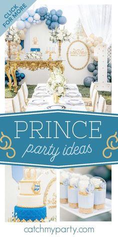 Prince Birthday Party, 1st Boy Birthday, Boy Birthday Parties, Birthday Cake, Fun Party Themes, Party Ideas, Little Prince Party, Farm Themed Party, Teddy Bear Party