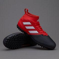 new style 2e976 5ead5 adidas ACE 17.3 Primemesh TF - Rojo Blanco Negro Zapatillas De Futbol Sala,