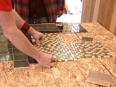 How to make your own tile table top