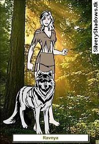 Ravnya, portrait.  Personaje de la novela de fantasía épica Ojos de Jade, de F. J. Sanz.  http://www.fjsanz.com