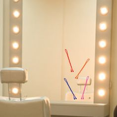 Mirror Size Bobby Pins Set of 4 Vinyl Wall Decals by MushuDesigns, $6.75