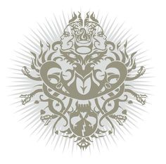 UFOMAMMUT - Lucifer Songs CD and LP cover - Supernatural Cat (IT)