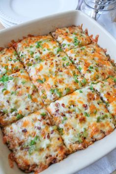 Mexican Brown Rice Bake (Gluten free). Make it vegetarian by skipping chicken and adding quinoa for protein.