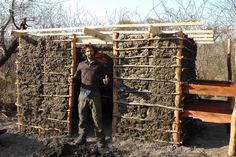 Hap helps to build a mud house in Africa as part of his and Mandy's mission.  Check out their epic tale of adventure and love at www.lovinginlimbo.com