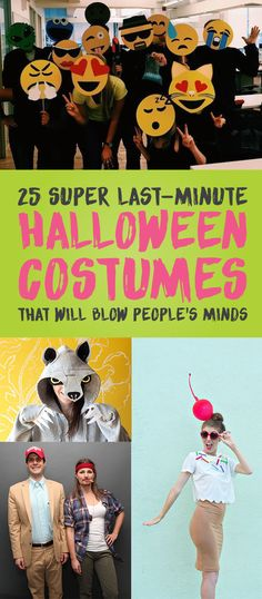 25 Super Last-Minute Halloween Costumes That Will Blow People's Minds
