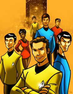 star trek TOS by *rocom on deviantART