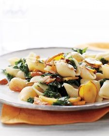 Everything You Need To Know About Roasted Acorn Squash Pasta with Kale and Almonds