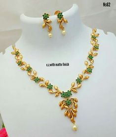 Jewellery Gold Necklace Simple, Gold Jewelry Simple, Ruby Necklace, Choker Necklaces, Earrings, Gold Mangalsutra Designs, Gold Jewellery Design, Diamond Jewellery, Bridal Jewelry