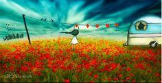 В търсене на любовта - прекрасни илюстрации Love Story, Amanda, Digital Art, World, Artist, Painting, Beautiful, Love Messages, Artists