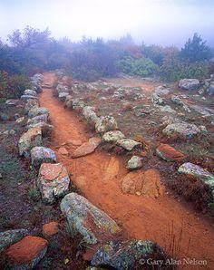 Trail on Elk Mountain, Wichita Mountains National Wildlife Refuge, Oklahoma