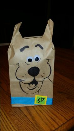 Scooby Doo treat bags.