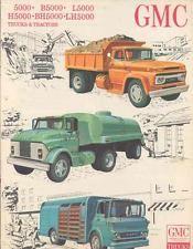 1964 GMC 5000 Truck Brochure wk6542-1VQKQQ