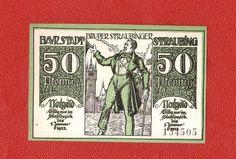 Germany Notgeld Staubing 50 pfennig 1919 XF-UNC #41