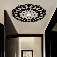 (48) Ceiling Decal Rosetta - OpArt from Tiva Design on OpenSky