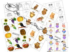 Memory Games: Back to school 2016 - Autumn Themed #BTS2016