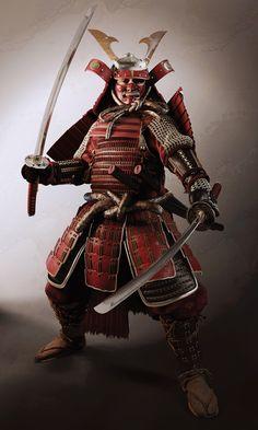 Samurai warrior, Hasan Bajramovic (3D)