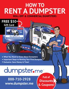 Free eBook - How to Rent a Dumpster – Dumpster, Residential Roll Off Dumpster…