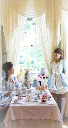 Tea with Miss Marie ~ Debbie Orcutt  ❤