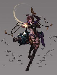 Vampire-X , bom Yeon on ArtStation at https://www.artstation.com/artwork/KRW2y
