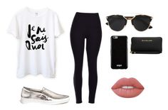 """Casual"" by valeriatrujillog on Polyvore featuring Michael Kors, Christian Dior, Givenchy and Lime Crime"