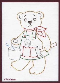 Nursery Patterns, Pin Card, Embroidery Cards, Teddy Bears, Charlie Brown, Stitching, Snoopy, Templates, Disney