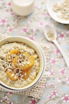 Porridge Réconfortant à l'Orange et à la Cannelle