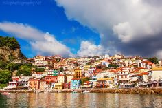 Parga, Greece  http://milaphotography.net/