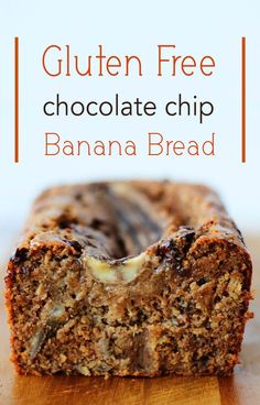This gluten free chocolate chip banana bread was created in partnership with HP. It's totally dairy free but manages to stay incredibly moist thanks to the natural almond butter and eggs.
