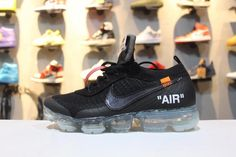52cf50bcdde588 Best Quality Nike Air Max 2018 Black Flyknit Running Shoes Factory Store  New Arrival Nike Air Vapormax