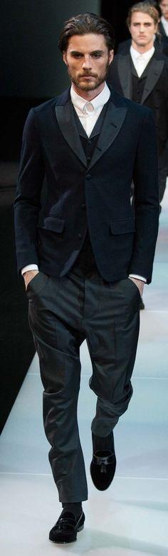 Giorgio Armani Fall 2015 Menswear