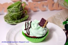 Mil ideas mil proyectos: CUPCAKES AFTER EIGHT
