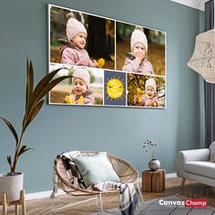 Make your own canvas photo collage with CanvasChamp. Collage Canvas Prints - Use your favorite photos to create a high quality Collage Canvas. Photo Canvas, Make Your Own, Your Favorite, Collage, Canvas Prints, Create, Wall, Fun, Photos