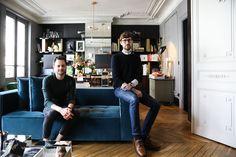 Un intérieur de haute volée, c'est ce que nous propose les architectes d'intérieurs David Chaplain et Alexandre Roussard. Une visite The Socialite Family.