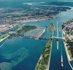 Soo Locks -- Sault Ste Marie, Michigan