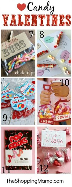 Best Classroom Candy Valentine Ideas
