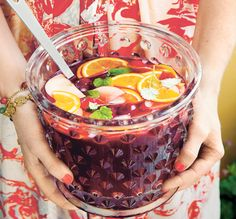 Our Super Delicious Sangria / Party Cookbook by Ebba von Sydow and Amy von Sydow / Svenskt Tenn
