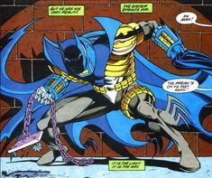 The John Paul Valley Batman suit.