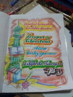 Carátulas niño 3d Paper Crafts, Bullet Journal Themes, School Decorations, My Notebook, Mole, School Supplies, How To Make, Ideas, Creative Notebooks