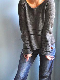 Knitting pattern: Memia's cloudy sweater on Ravelry