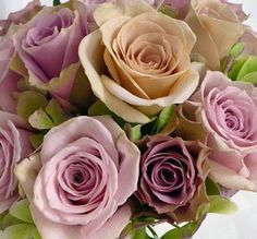 not the purple, love the colour of the middle one Purple Wedding Decorations, Purple Wedding Bouquets, Wedding Flower Arrangements, Flower Bouquet Wedding, Flower Bouquets, Bridal Bouquets, Floral Arrangements, Different Colors Of Purple, Purple And Green Wedding