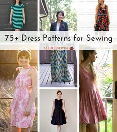 75+ Dress Patterns for Sewing
