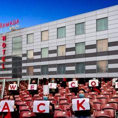 L'Ecole Hôtelière de Genève à vos côtés ! Aujourd'hui ouverture du Ramada Encore à La Praille. L'ensemble des étudiants et des enseignants de l'EHG félicite les équipes du Ramada Encore Genève et leur assure tout leur soutien. #ehgsolidaire #hotel #conference #déconfinement #genève #geneva #wyndham #RamadaEncoreGeneva @ramadaencoregeneva Hui, Openness