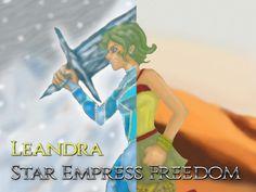 Leandra Character Handbook project video thumbnail