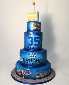 National Aquarium 35th Anniversary - charmcitycakes