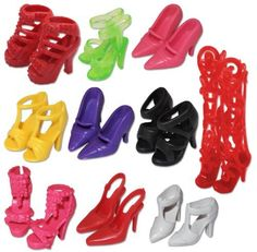 10 Pairs of Doll Shoes, Fit Barbie Dolls, (Exactly As in Photo) by Anya's Collections, http://www.amazon.com/dp/B008K6C1LM/ref=cm_sw_r_pi_dp_jR-Rqb13Q677W