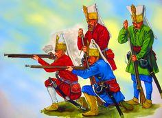 Ottoman Janissaries musketeers